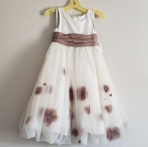 Adorable Ivory formal dress